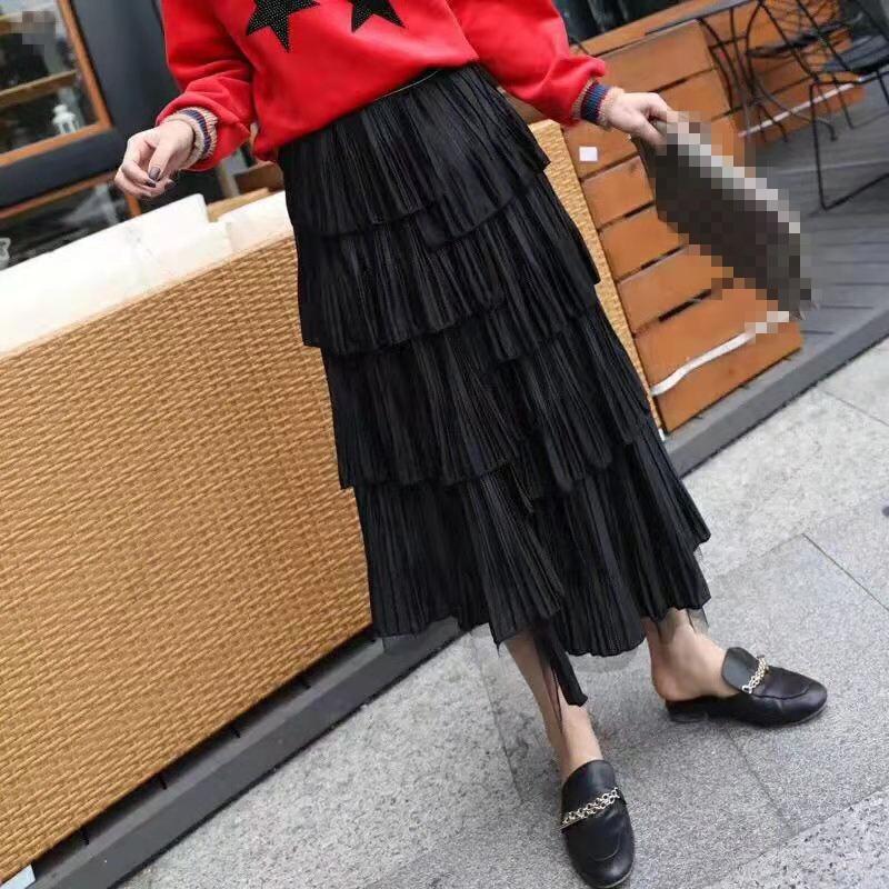Ah03448 Femmes Jupes Style Célèbre Partie Européenne Mode Vêtements Piste Design Luxe De 2019 Marque qqfrT64