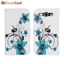 For Samsung Galaxy S3 Neo Case Cover Fundas Coque for Samsung S3 i9300 S3 Lte i9305 S3 Neo Carcasas Capa Hoesjes Printing Wallet
