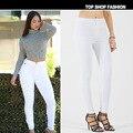 Skinny jeans mujer limited ms. plus tamaño de los pantalones vaqueros 2017 nuevas mujeres de europa y américa popular calle super-cintura elástica ultra