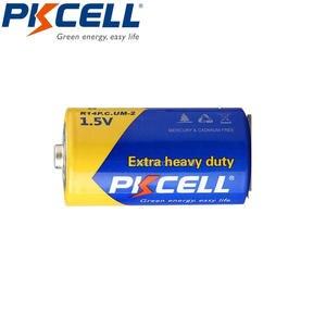 Image 2 - PKCELL 8 шт., Цинковый углеродный аккумулятор, размер C R14P UM2, батареи