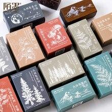 Creative Tropical Rainforest Series Lotus Seal Jungle Rubber Handbook Diary DIY Decorative Seal Stationery