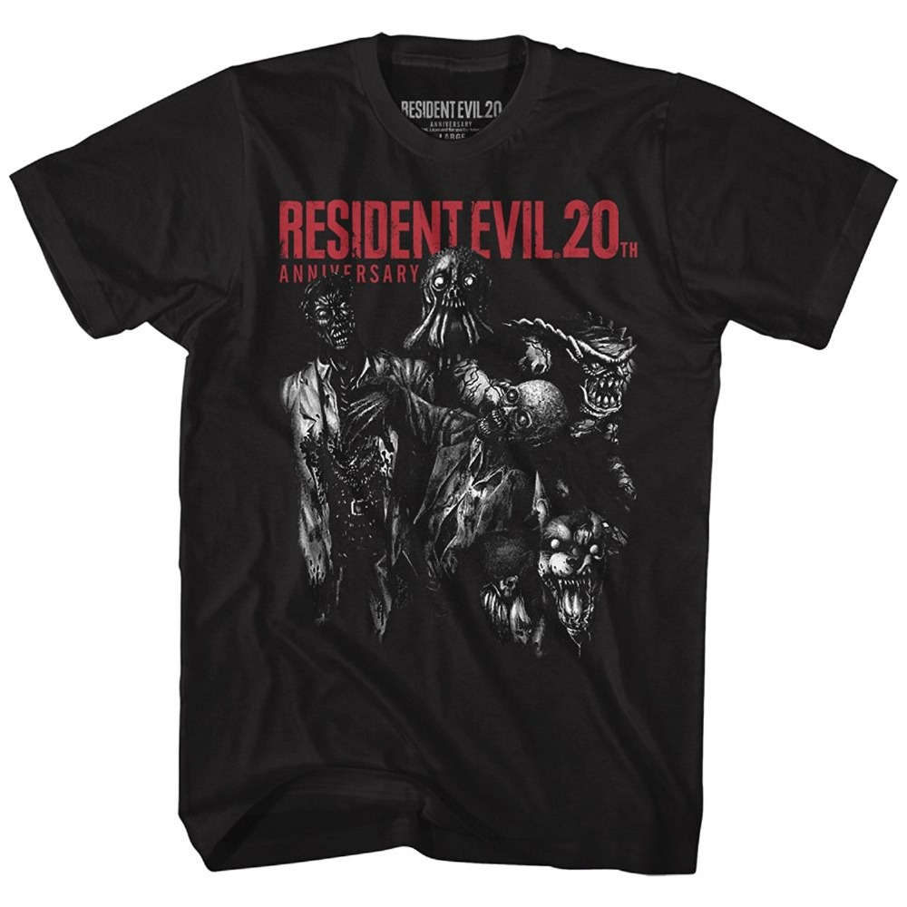 Kawaii Resident Evil Horror Film Video Game Machine Will Save Life Adult T-Shirt Tee Tshirt Casual O-Neck