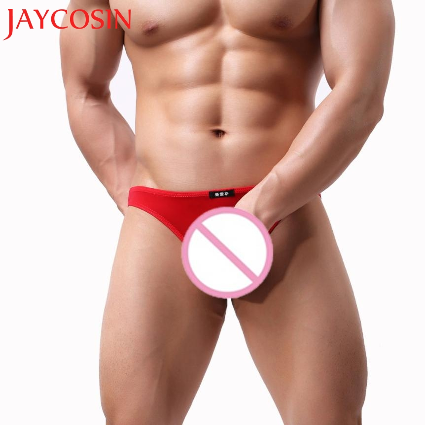 JAYCOSIN Fashion Men Underwear Sexy Comfortable Breathable Underpant Nightwear Hollow Sleepwear Dropshipping Jun 14