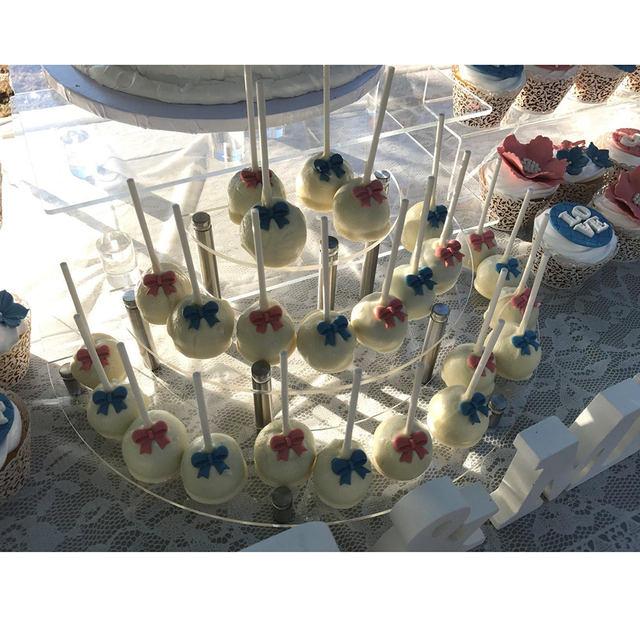 Transparent Basic Cupcake Stand