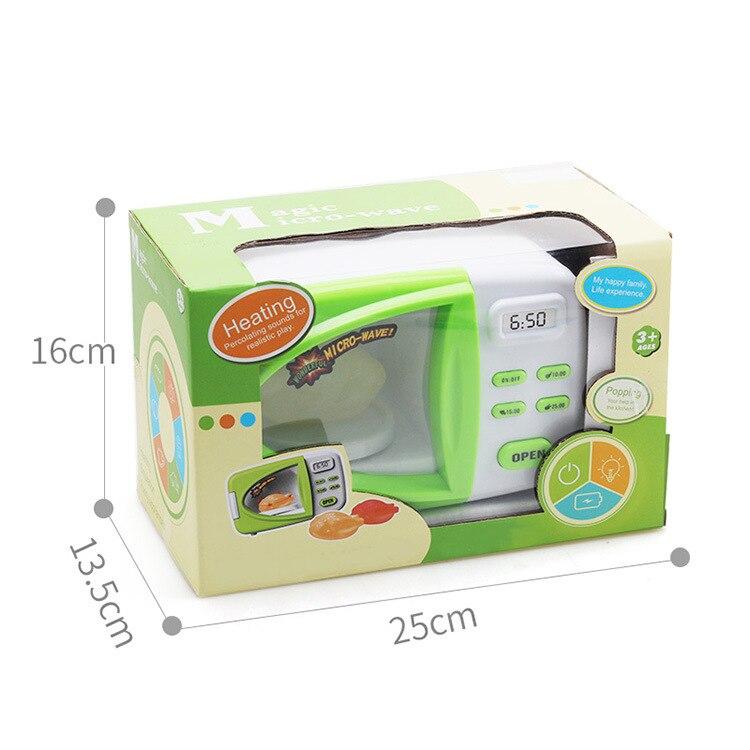 simulacao cozinhar brinquedos de microondas luzes eletricas 04