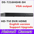 In stock fast free shipping DS-7204HGHI-SH DS-7208HGHI-SH DS-7216HGHI-SH 16ch H.264 & Dual-stream HD-TVI DVR HDMI and VGA output