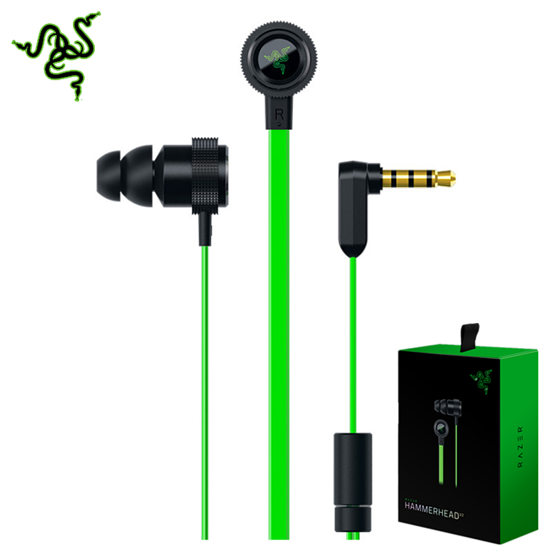 cheap 2016 new razer hammerhead v2 pro earphone with microphone no retail box in ear gaming. Black Bedroom Furniture Sets. Home Design Ideas