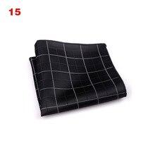 Droppshiping Vintage Men British Design Floral Print Pocket Square Handkerchief Chest Towel Suit Accessories BFJ55