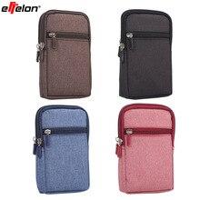 Effelon Cowboy Cloth Pouch Belt Clip for Samsung S8 S7 J5 2016/ J7/J5/J3/J1 Case with Pen For iphone 5 5s 6 6s 7 7s