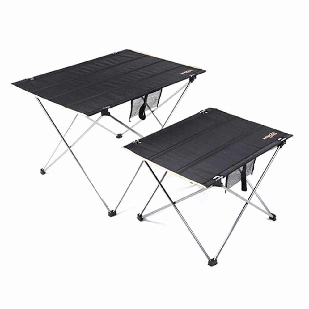 Wondrous Us 24 49 25 Off Hewolf Outdoor Ultralight Portable Table Aluminum Alloy Oxford Cloth Folding Table For Camping Barbecue Picnic In Outdoor Tools From Alphanode Cool Chair Designs And Ideas Alphanodeonline
