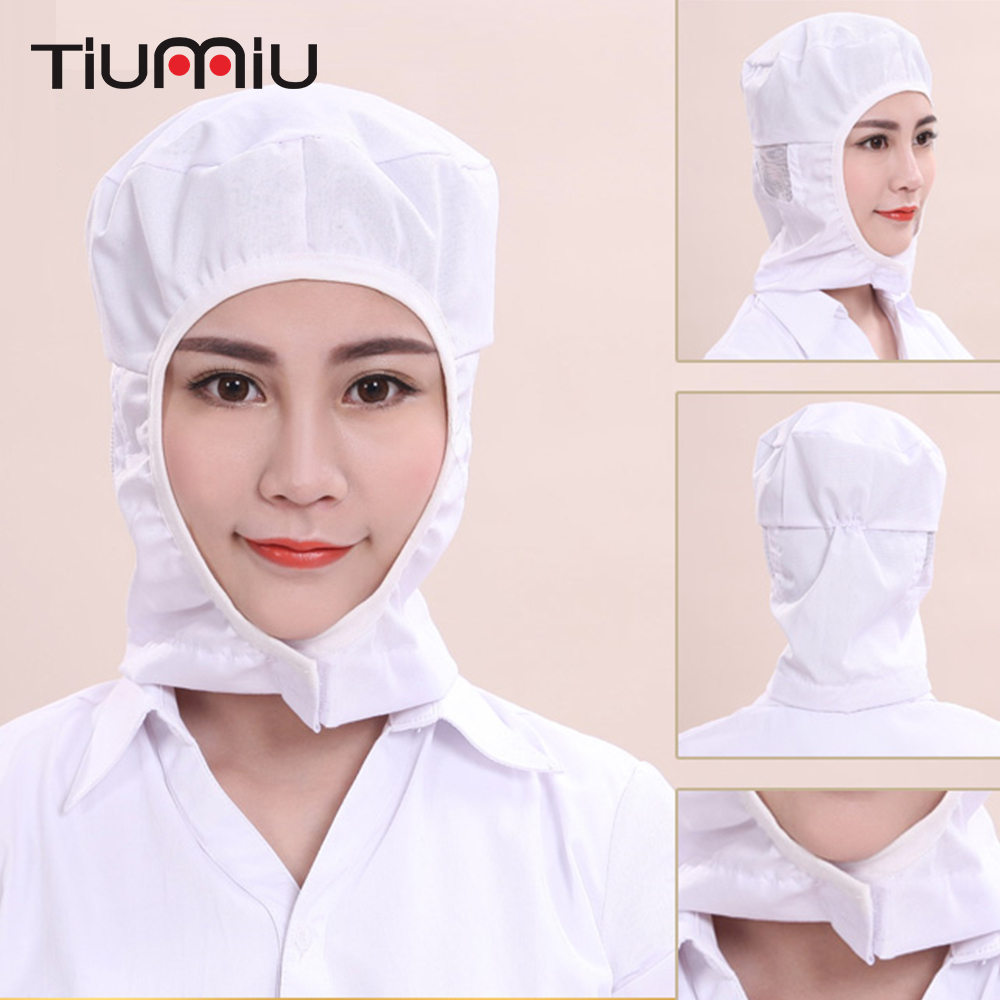 Food Factory Workshop Caps Breathable Dustproof Men Women Kitchen Restaurant Bakery Waiter Food Service Men Women Breathable Hat