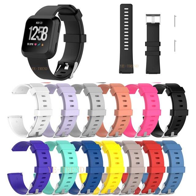 Yeni Varış Fitbit Versa Için Bileklik Bilek Kayışı kordon akıllı saat Kayışı Yumuşak Kordonlu Saat Yedek Akıllı saat kayışı ÜCRETSIZ GEMI
