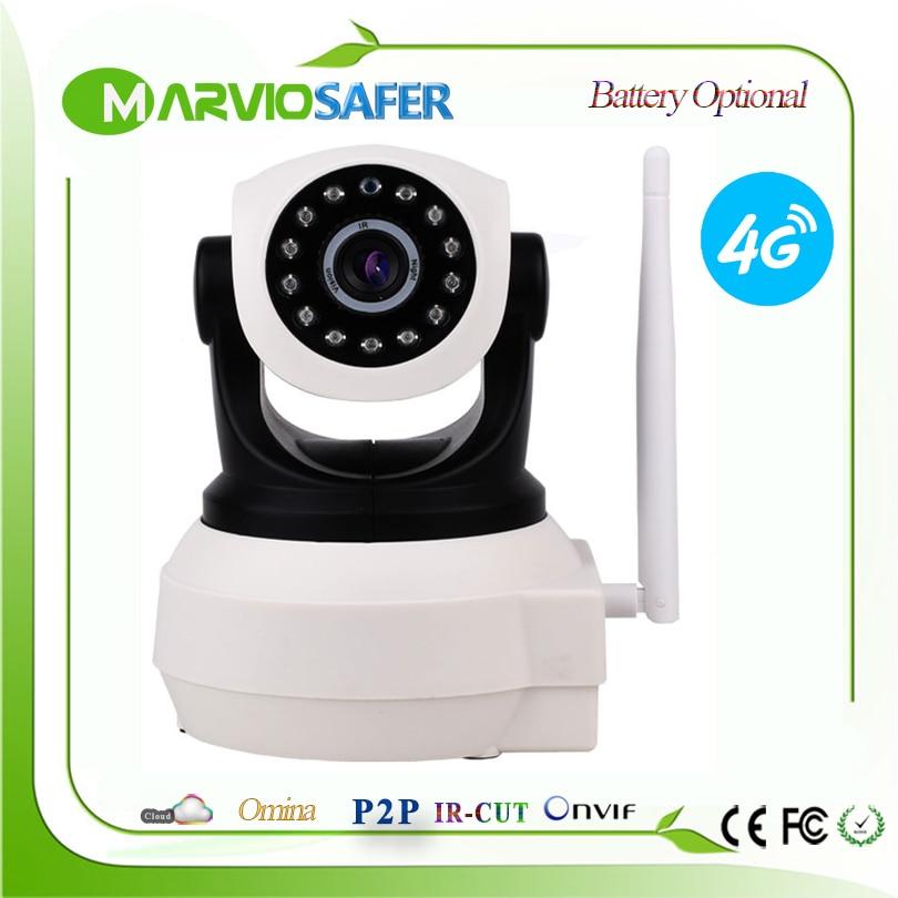 1080 P 960 P 3G 4G carte SIM caméra Wifi usage domestique PTZ HD réseau IP caméra sans fil IR Camara panoramique et inclinaison batterie vocale Audio bidirectionnelle