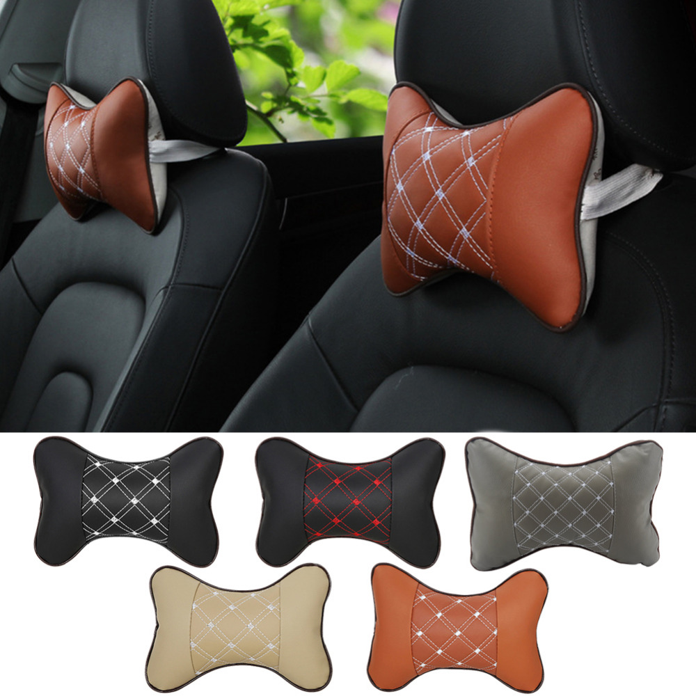 Car Seat Head Neck Rest Cushion Support Pillow Headrest Pad for ford bmw toyota volkswagen Neck Auto Safety Pillow