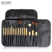 15PCS SET Makeup Brush High Quality Nylon Soft Synthetic Hair Professional Makeup Artist Brush Tool Kit