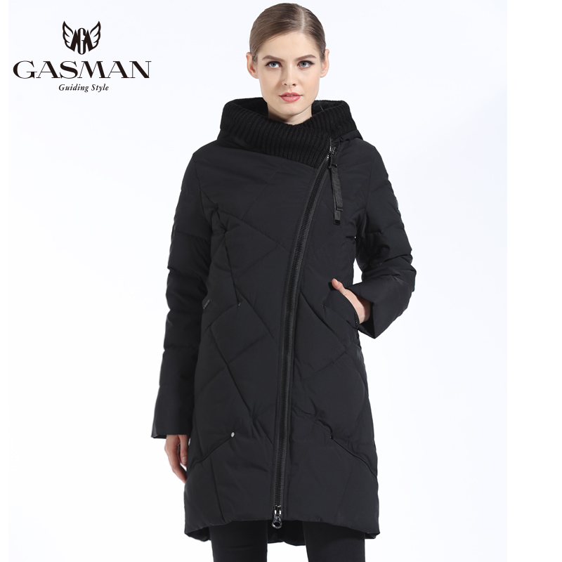 GASMAN 2018 Women Winter Coats Big Size 5XL 6XL Winter Women Down Jacket And   Parka   Long Winter Clothes Women Thick Plus Size