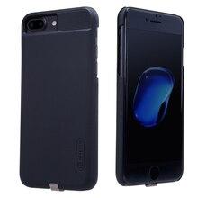 Nillkin telefon şarj alıcısı iphone kılıfları 6 6S 7 5 5S 6 artı qi alıcı kablosuz kapak güç şarj vericisi tamponlar