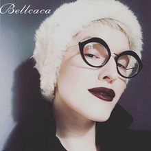 Bellcaca Optical Glasses Women Simple Prescription Spectacles Cat Eye Eyeglasses Frames Transparent Clear Lens Eyewear BC823