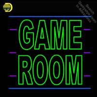 Neon Signs for Custom Game Room Letters Kids Play Neon bulb Sign Decorate Game Room wall Lamp Handcraft Glass Tubes Art Dropship