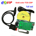 Free Shipping Gold color 2015.3 tcs cdp for cars / trucks diagnostic tool gold cdp plus without bluetooth