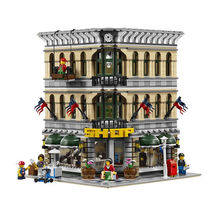 2016 New LEPIN 15005 2182Pcs City Creator Grand Emporium Model Building Kits Minifigures Blocks Brick Toy Compatible With 10211