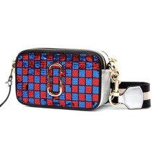 Elegante Patchwork Echtem Leder frauen Marke Messenger Bags Freizeit Design Umhängetasche