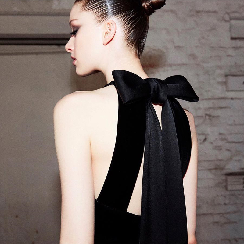 Femmes Nouvelle Dos Noir Robe Sans En Nu Manches Bandage Parti Mode Gros Outfit Élégant Longue Cocktail t8r08qSXw