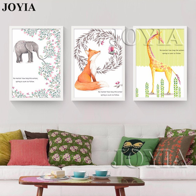 Canvas Prints For Baby Room large wall art picture kids baby room decor canvas painting