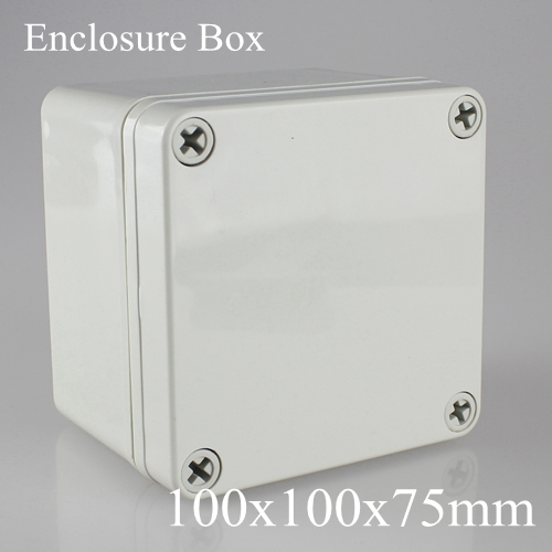 100x100x75MM IP67 ABS electronic enclosure box  Distribution control network cabinet switch junction outlet case 100*100*75MM 175 175 100mm ip67 abs electronic enclosure box distribution control network cabinet switch junction outlet case 175x175x100mm