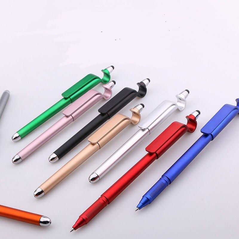 Gel pen Advertising pen custom signature pen gift pen mobile phone bracket multi-function pen Wholesale 50pcs/lot