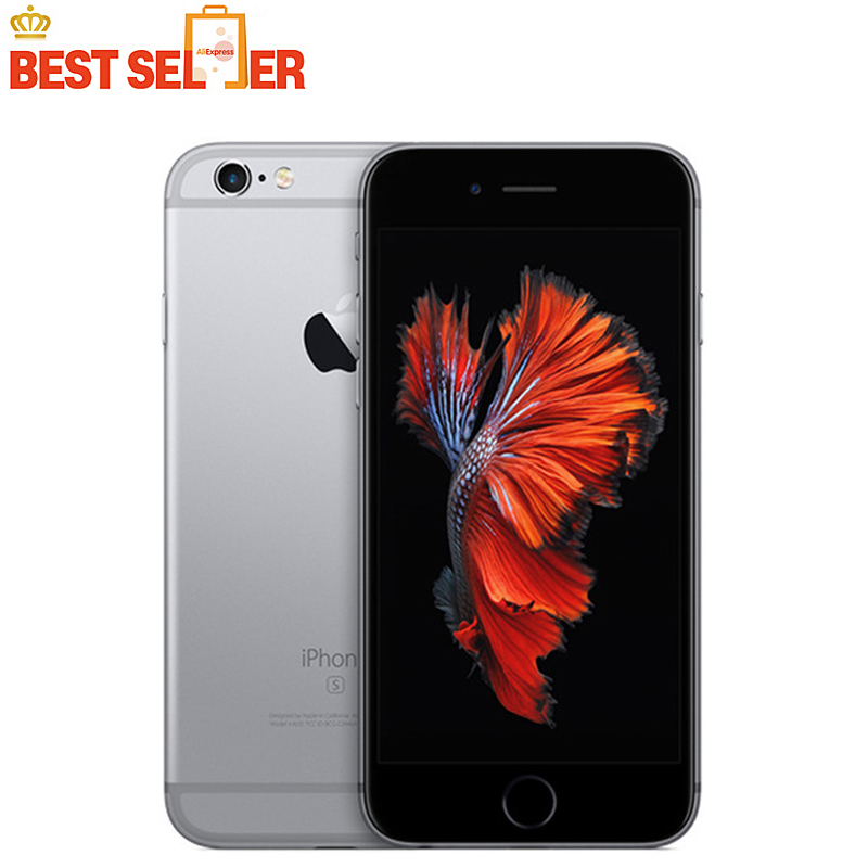 Original Unlocked Apple iPhone 6s Plus 4G LTE Mobile Phone 4.7/5.5inch ROM