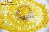TCH302 2.0 MM Size Solventbestendige Mate Citroengeel Kleuren Diamond ruitvorm glitter voor nail art en andere deco