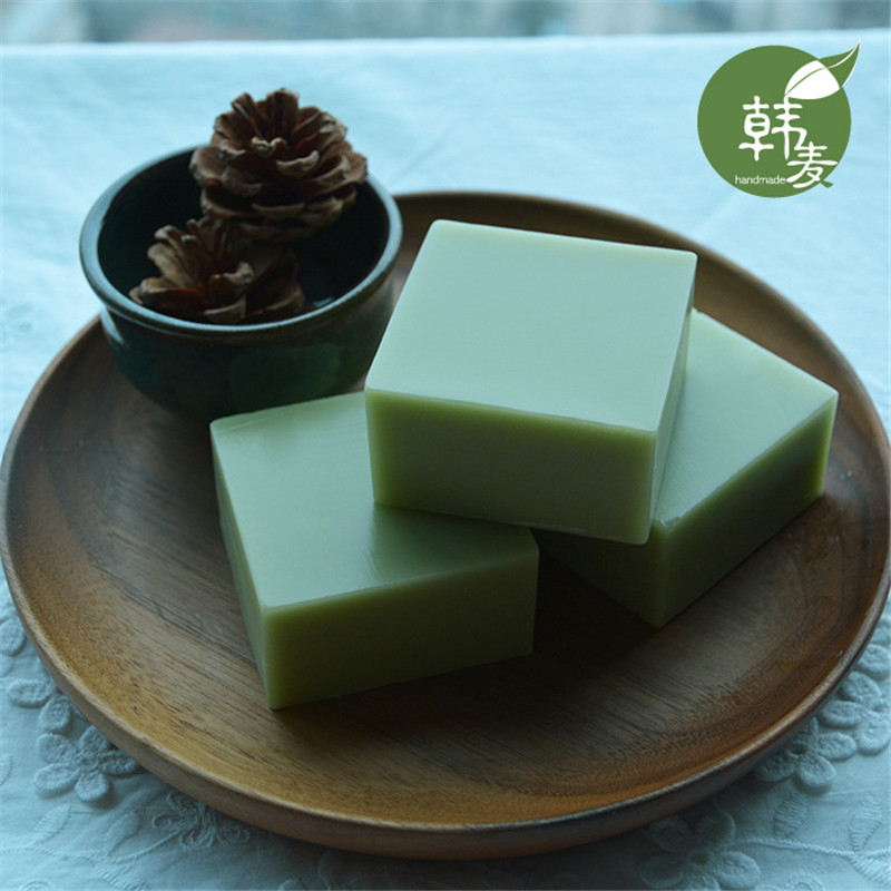 Natural Green Tea Matcha Handmade Soap Essential Oil Control Face Care Skin Cleaner Bath Acne Remove Pimple Whelk Shrink Pore