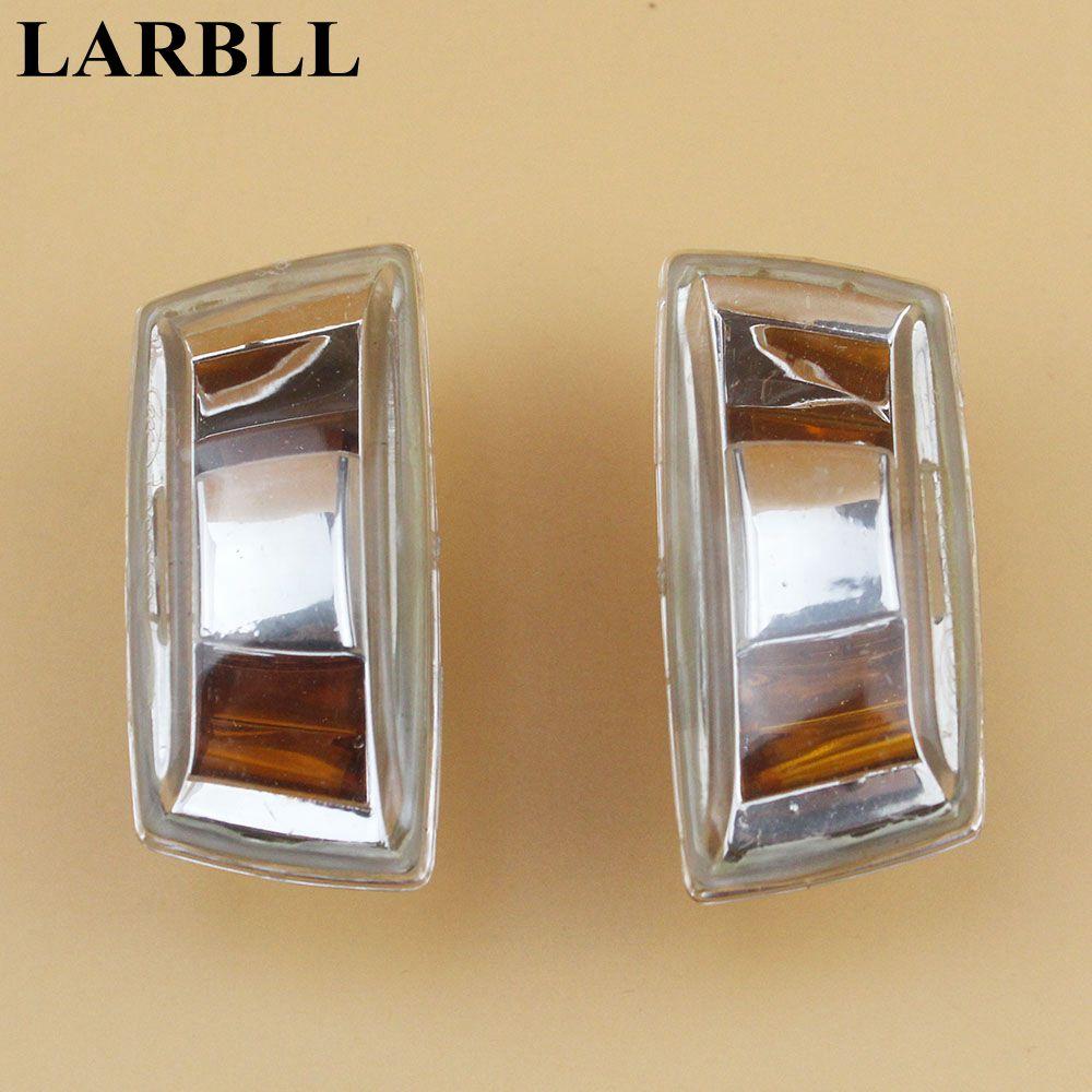LARBLL 2Pcs Turn Signal Lamp Fender Light Shell Cover for Chevrolet Cruze Orlando