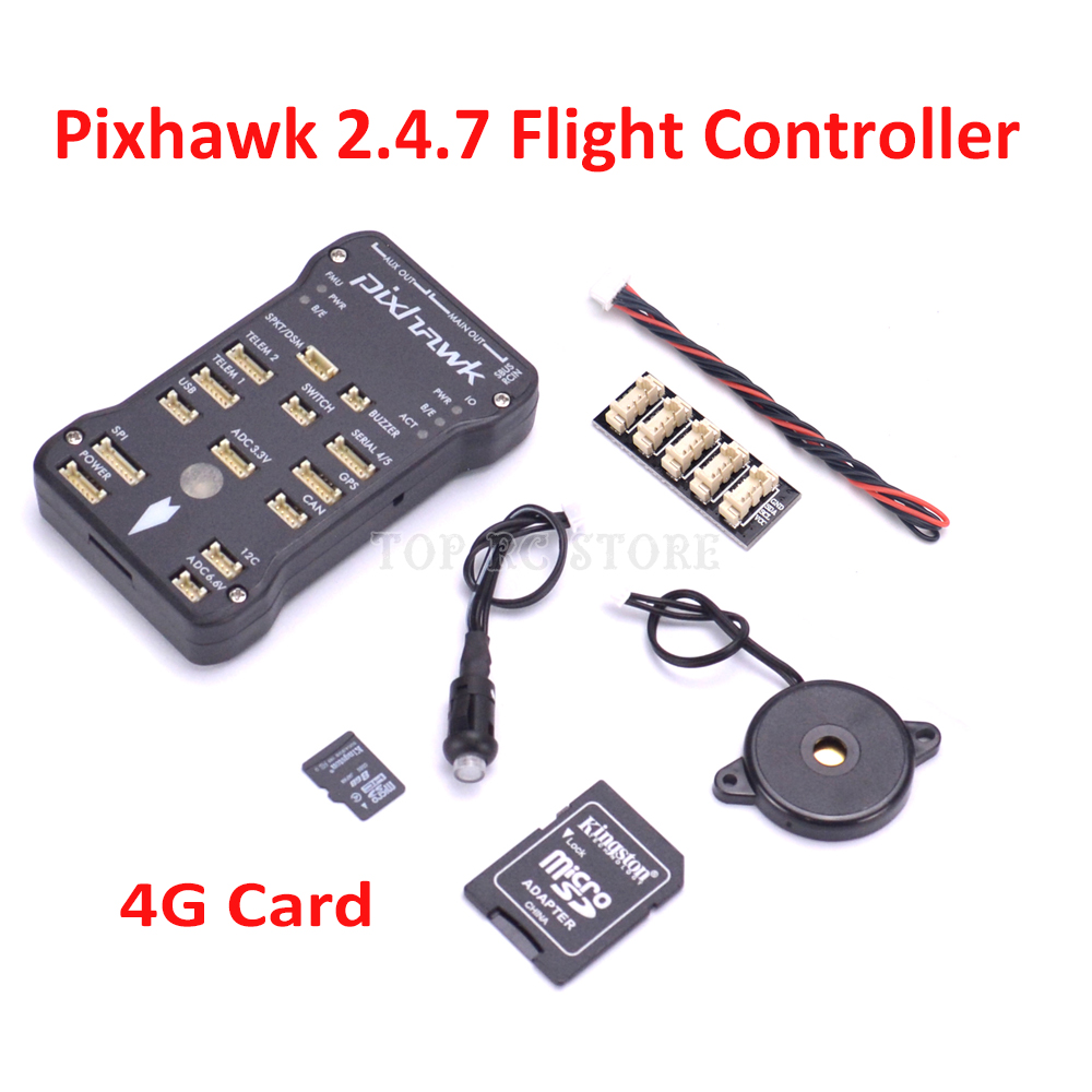 Pixhawk PX4 Autopilot PIX 2 4 7 32 bit ARM Flight Controller 4G TF Card I2C