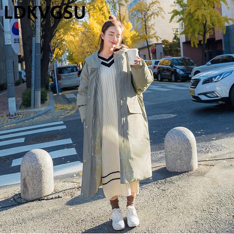 Parkas Lâche Nouvelle Poche Blue Is1243 Taille Grande À Coréen Green Survêtement La peacock Plus Femmes Épais 2018 Manteau Hiver De Longues Chaud Capuchon Veste Gray 7q4wXC