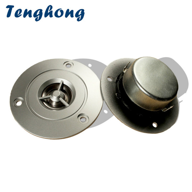 Tenghong 2pcs 3 Inch Tweeter 8Ohm 20W Portable Audio Speakers Fever HiFi Treble Speaker Unit For Car Loudspeaker DIY