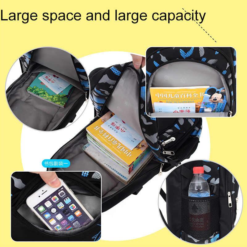 Водонепроницаемый детский школьный рюкзак для девочек и мальчиков, детский Ранец, ортопедический рюкзак, школьный рюкзак для начальной школы, детский рюкзак