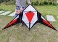 Envío de la alta calidad 2.1 m espada de doble línea de cometas acrobáticas con la línea de mango cometa carrete cadena cometas grandes juguetes weifang