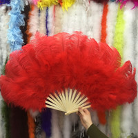 new!10 colors of ostrich feathers for Halloween party decorations decorated with belly dancers fan decorated Halloween party
