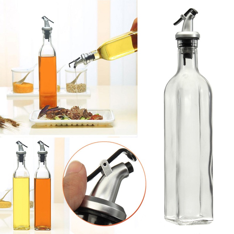 1x500 ml 18oz azeite e vinagre pourer