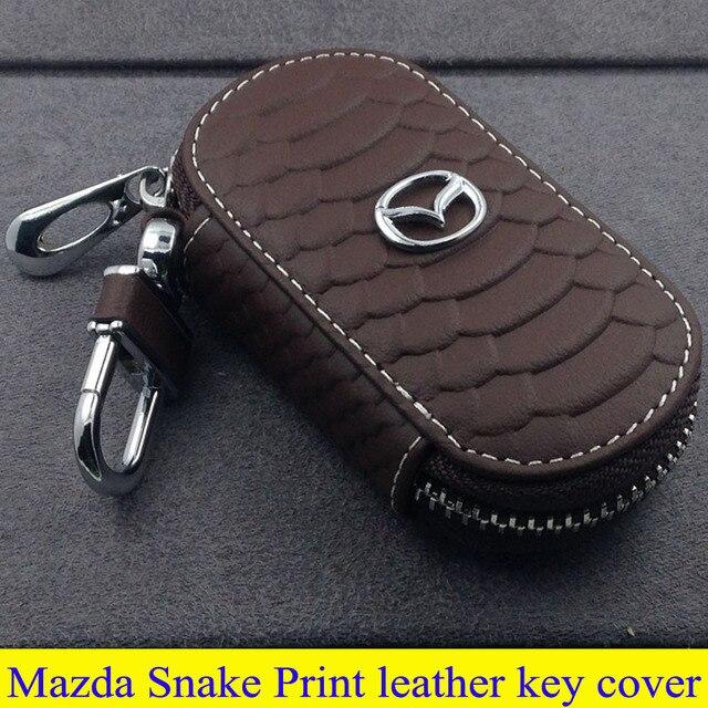 Mazda части высокое качество кожа крышка клавиатуры для Mazda 3 6 Axela A Tezi внедорожник Mazda CX-9 mpv-36 Mazda5 8 змея-принт стиль кольца