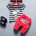 2017 New Boy Boy Summer Cartoon Style Baby Clothing Baby Clothing Set Boy Fashion Sports Cotton Short Sleeve 2 Baby