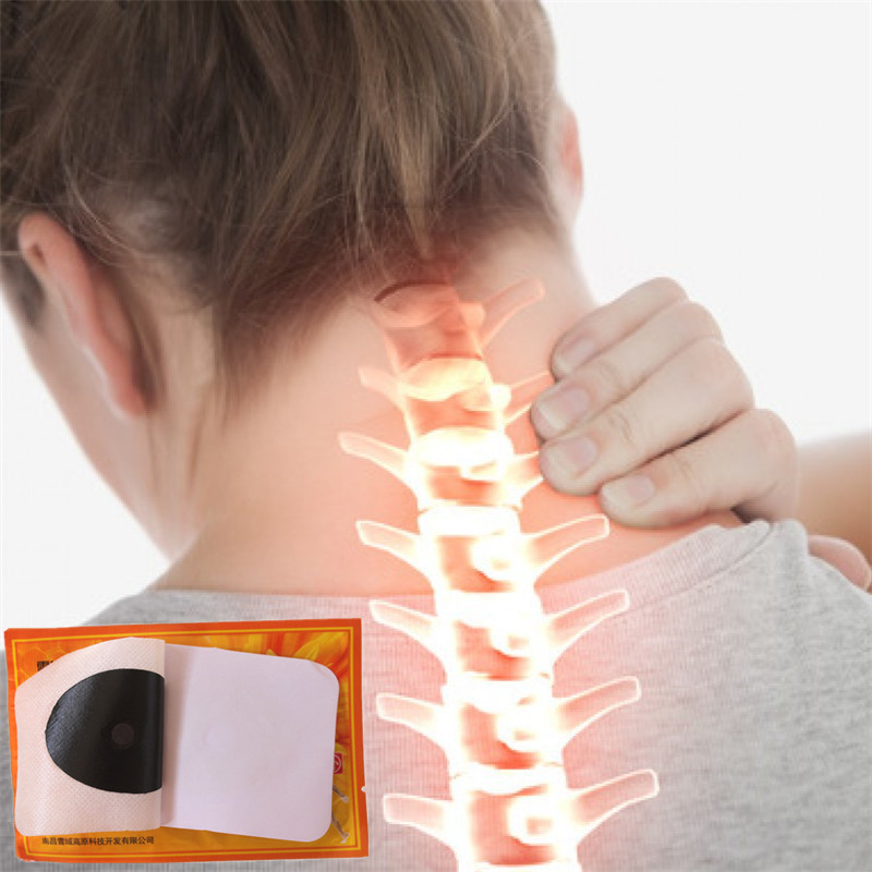 10 Pcs Wild bees venom massage Essential oil Patches for lymphatic drainage Neck Shiatsu Massage promote