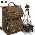 Double-shoulder DSLR Camera Rucksack Backpack Laptop canvas bag for Canon Nikon Sony Similar NATIONAL GEOGRAPHIC NG W5070