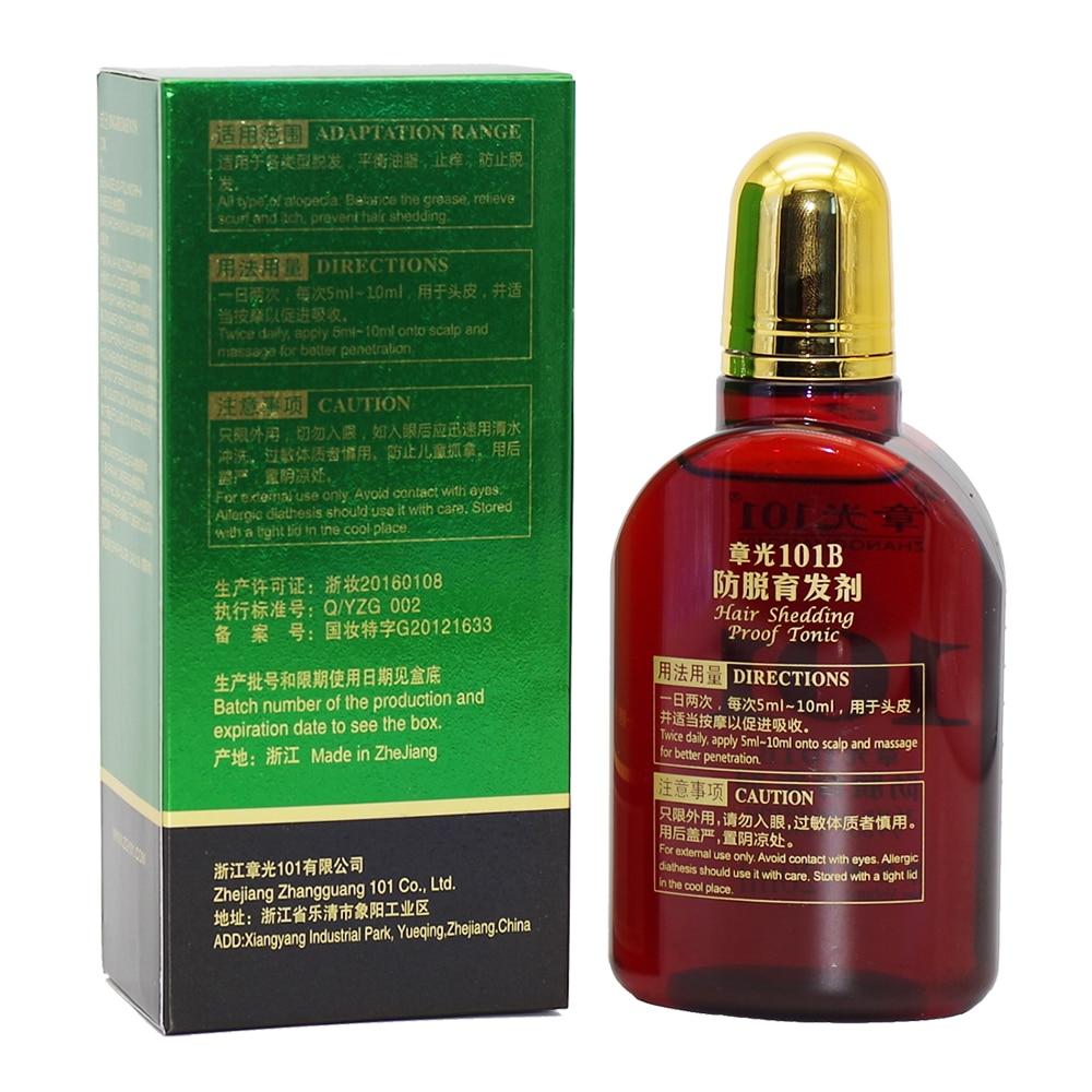 Zhangguang 101 B Formula Hair Tonic 120 ml anti-rambut rontok kuat - Perawatan rambut dan styling - Foto 2