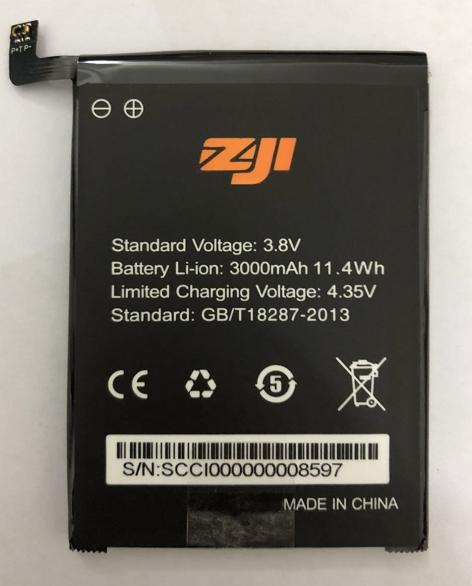 100 New Original HOMTOM zoji Z7 Battery 3000 mAh for HOMTOM zoji Z7 Smart Phone
