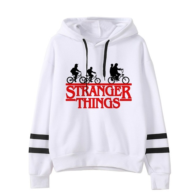 STRANER THINGS STRIPED HOODIE (23 VARIAN)