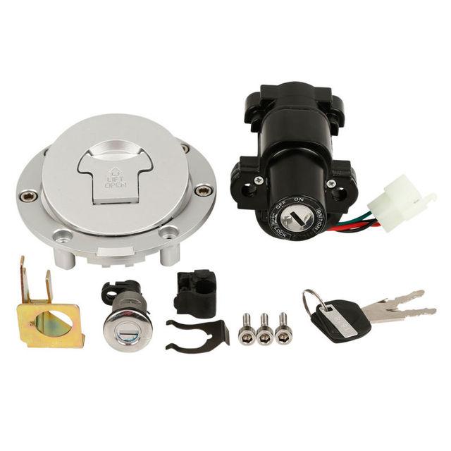 Fuel Gas Cap Ignition Switch Lock Key For Honda Cbr600 F4 99 00
