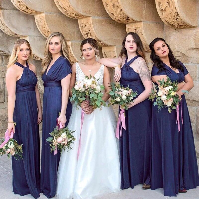 Teal Bridesmaid Dress Long Multiway Dress Infinity Plus Wrap Dress  Convertibel Floor Length Maxi Dress With One Shoulder StylesUSD 79.99 piece db9a6e569d8b
